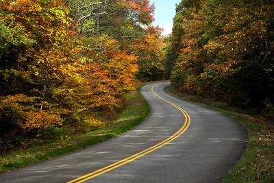 Mountains - Autumn on the Blue Ridge Parkway, NC.