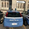 Police Car in Trieste, Italy