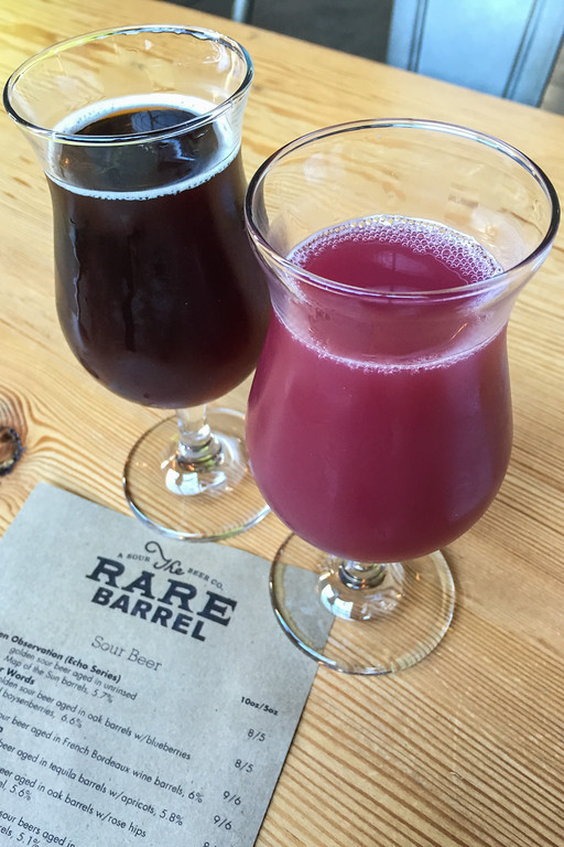 Some of Rare Barrel's Fruit-Flavored Sour Beer in Berkeley