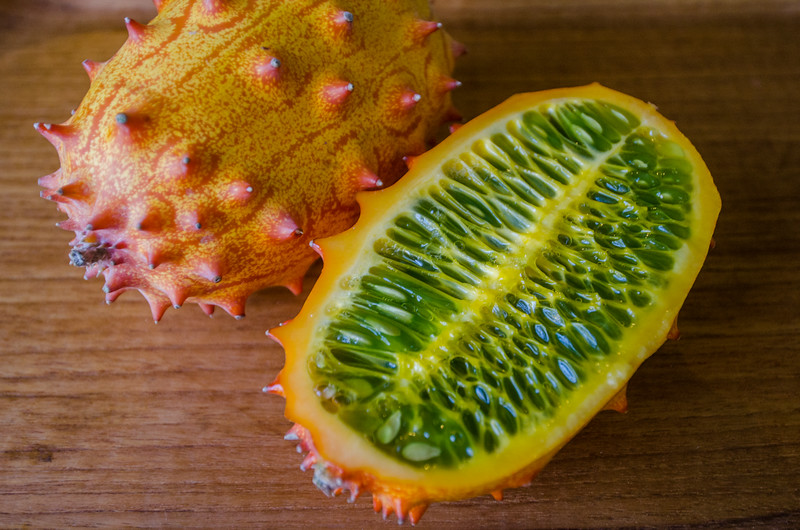 Kiwano or horned melon | Rare fruits from around the world