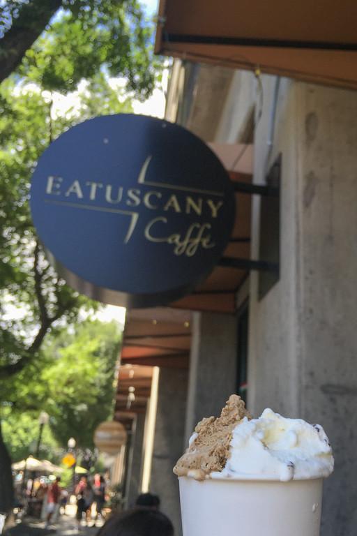 EaTuscany Caffe gelato in Sacramento, CA