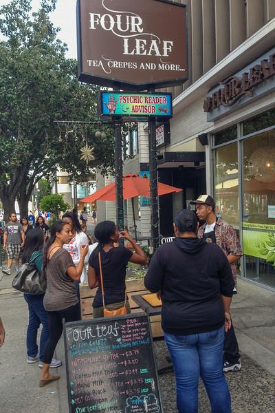 Four Leaf Tea, Downtown Los Angeles