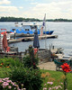 Garden, Dock and River