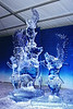Ice Sculpture - Winged Pigs