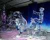 Ice Sculpture with Elephant
