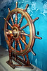Battleship Wheel (WWI Era)