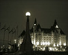 Chateau Laurier and Streetlight