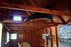 MacKenzie King Estate - Boathouse Ceiling with Canoe