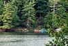 Canoes on Meech Lake