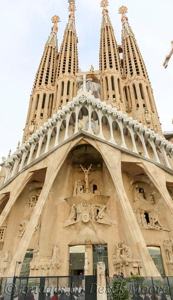 "Our Tour of Sagrada Familia ""Sacred Family"" in Barcelonia, Spain"
