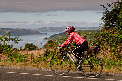 Stunning riding on Chiloe Island with a view of all the inlets in this Archipelago photos by Jeff Bartlett