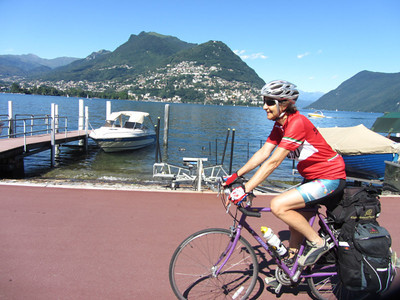 Pedaling by Lake Lugano: Day 3