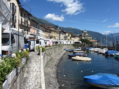 Shoreline of Lake Maggiore: Day 1