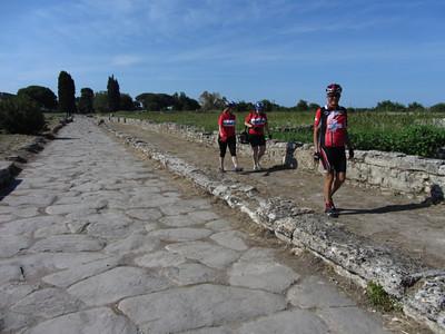 visiting the ruins at Paestum, ancient Poseidonia