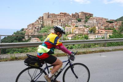Nearing the village of Pesciotta from Sapri to Paestum