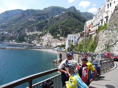 A stop on the Amalfi Coast