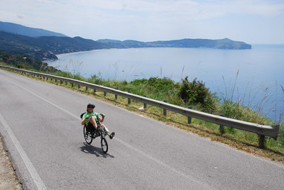 Bicycling the Cilento Coast, Italy