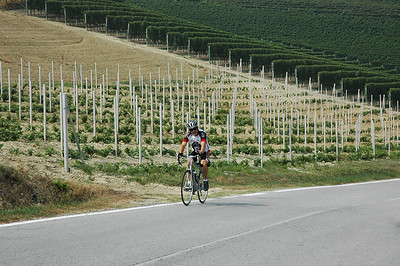 Cycling in the Piedmont region, day 10