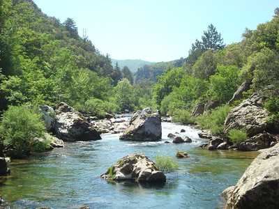 The Herault River Gorge, day 4
