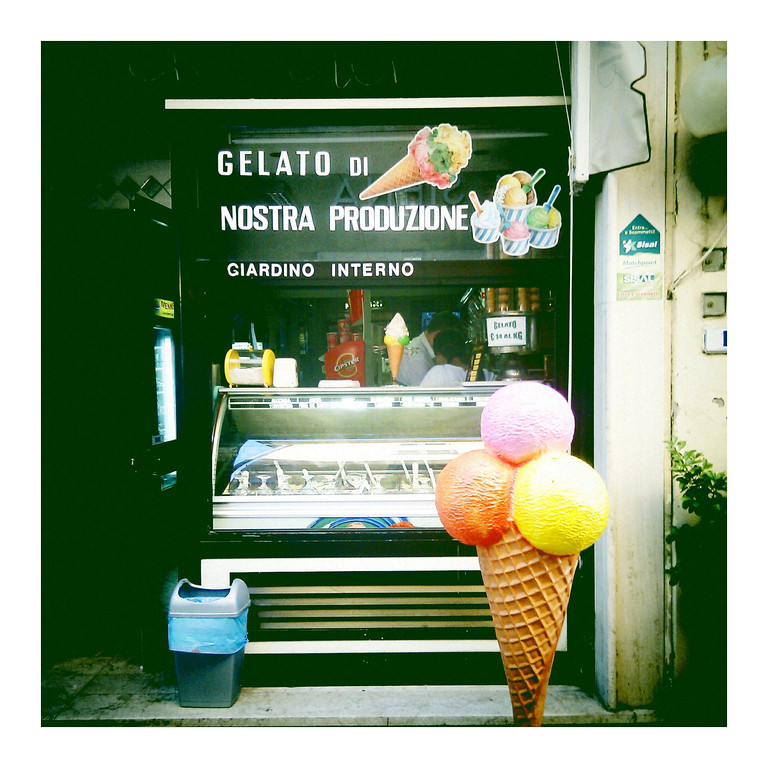 Gelaterias offer a sweet treat, and are found on many a street side for enjoyment and a boost of energy