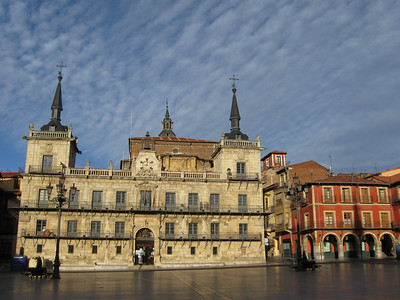 Plaza Mayor in Leon