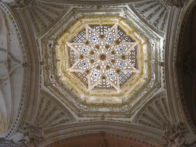 The cupola of Burgos Cathedral