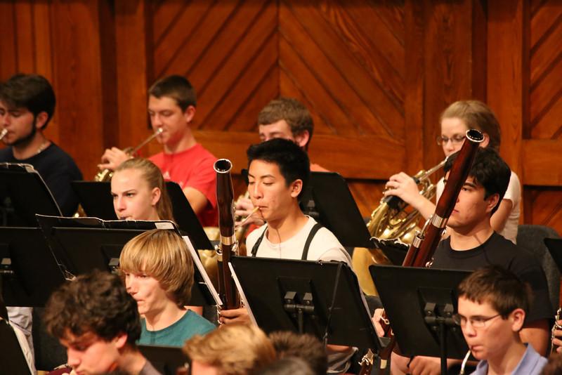 Harvard Concert Rehearsal