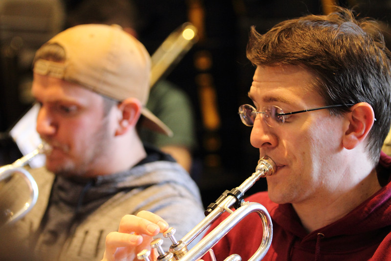Rehearsal: Winds, Brass and Percussion