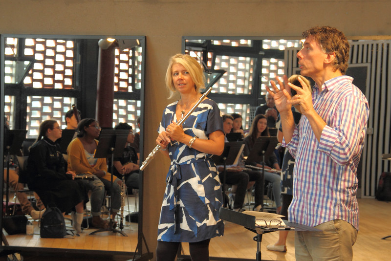 Woodwinds with Karen Jones and Andy Barclay