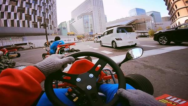 MariCar Osaka (Mario Cart) (Video)