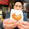 Outer food stalls near Tsukiji Fish Market