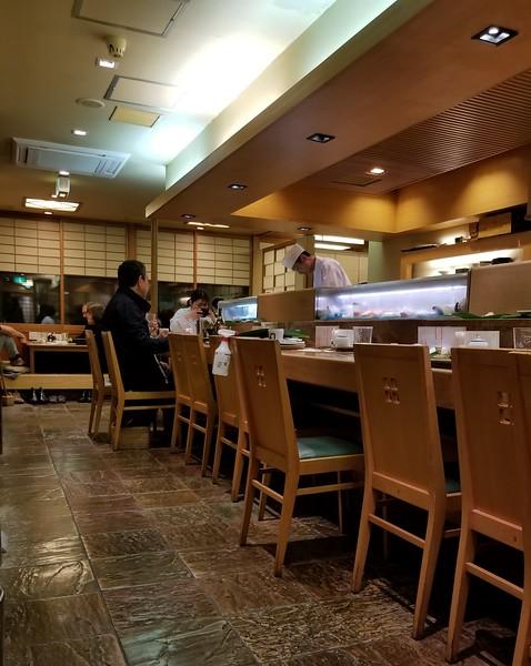 Sushi bar - YUM