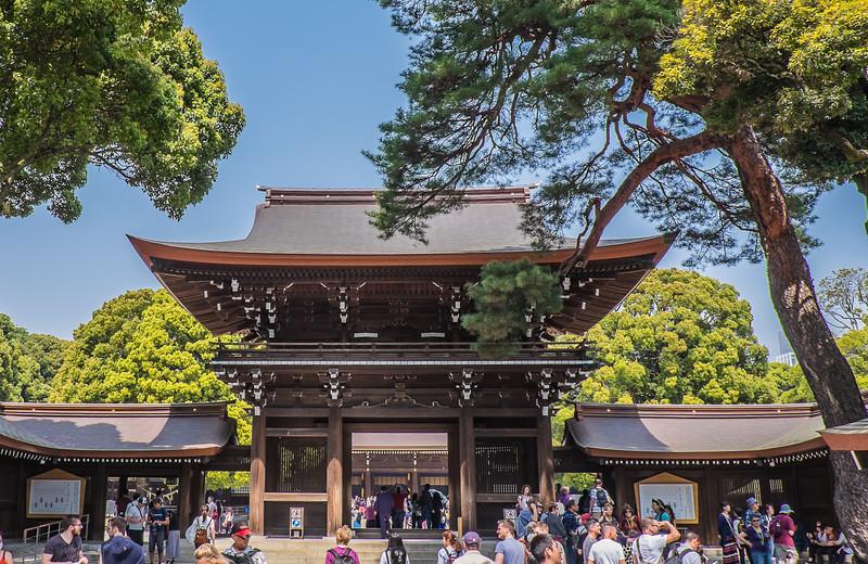 Main Shrine gateway