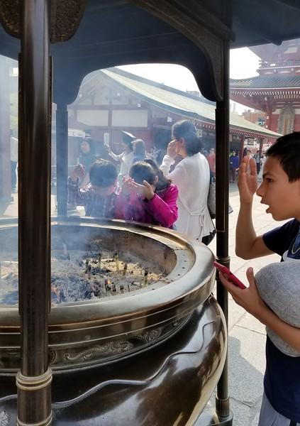 Bathing the self in holy smoke