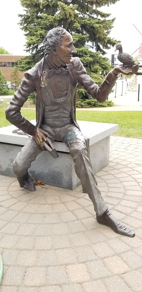Hans Christian Anderson sculpture