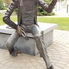 Hans Christian Anderson sculpture