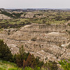 Eroded badlands