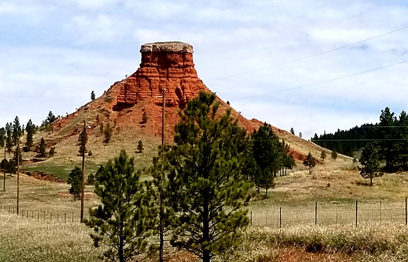 NOT Devil's Tower, but interesting nonetheless.