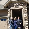 Paul, Kathy and Rick at Aurora Home