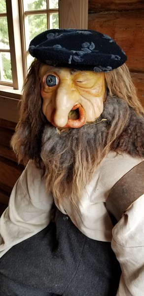 Troll manikin - important component of folklore