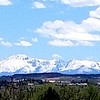 Pike's Peak with fresh frosting