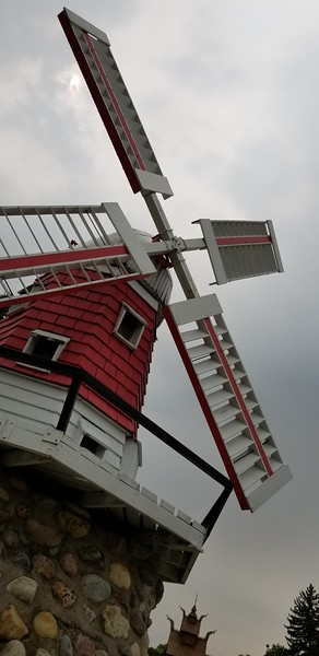 Danish-style windmill