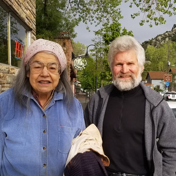 Sister Marcie and Paul in Morrison
