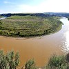 Bend in the Little Missouri River