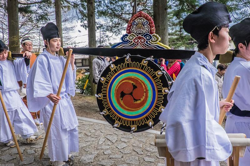 Gong bearers