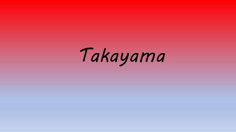 2018 Ceremonial Takayama