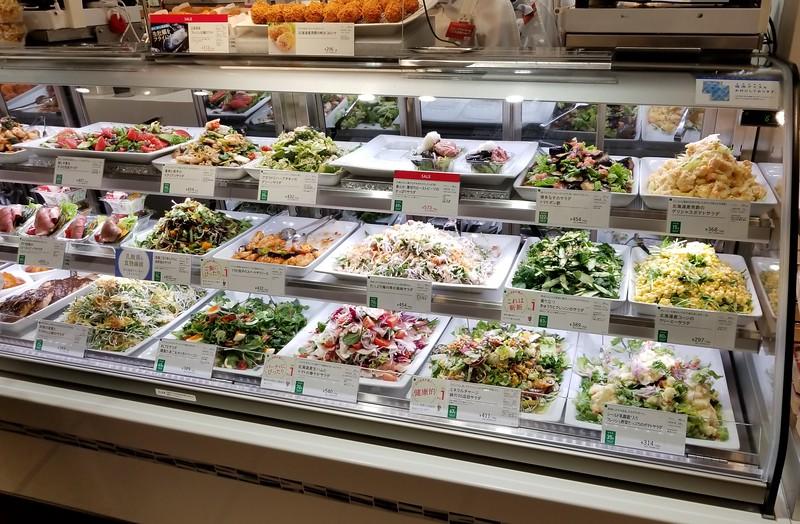 Food court deli offerings