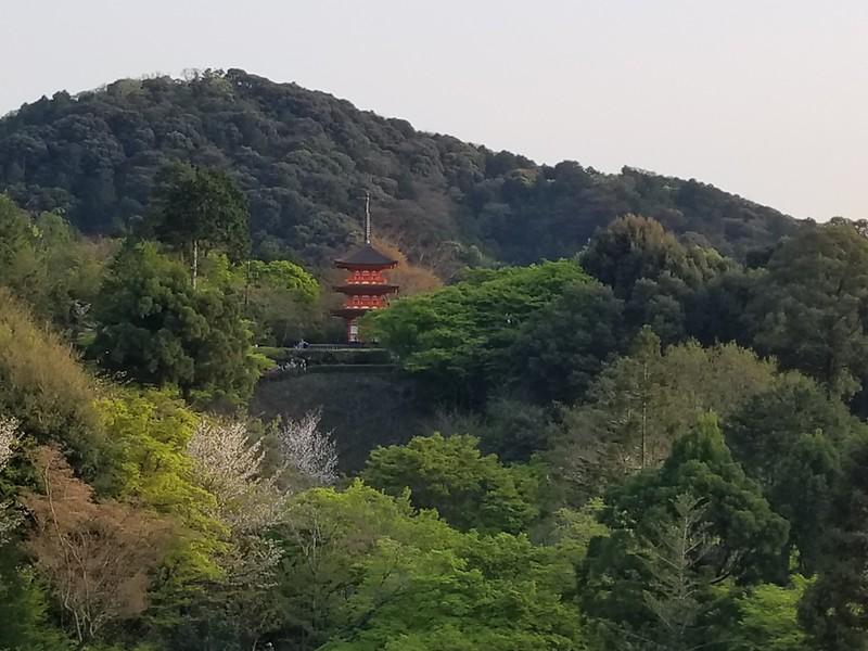 Kiyomizu-dera Temple viewpoint