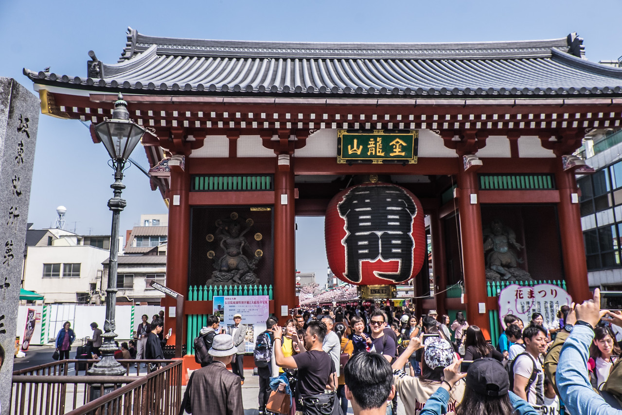 Senso-ji Grand Gate