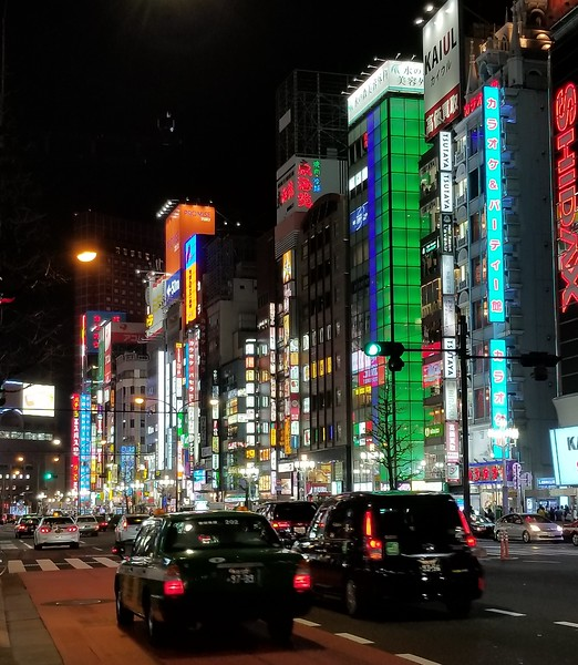 Shinjuku night life